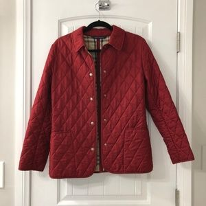 Quilted Burberry Jacket
